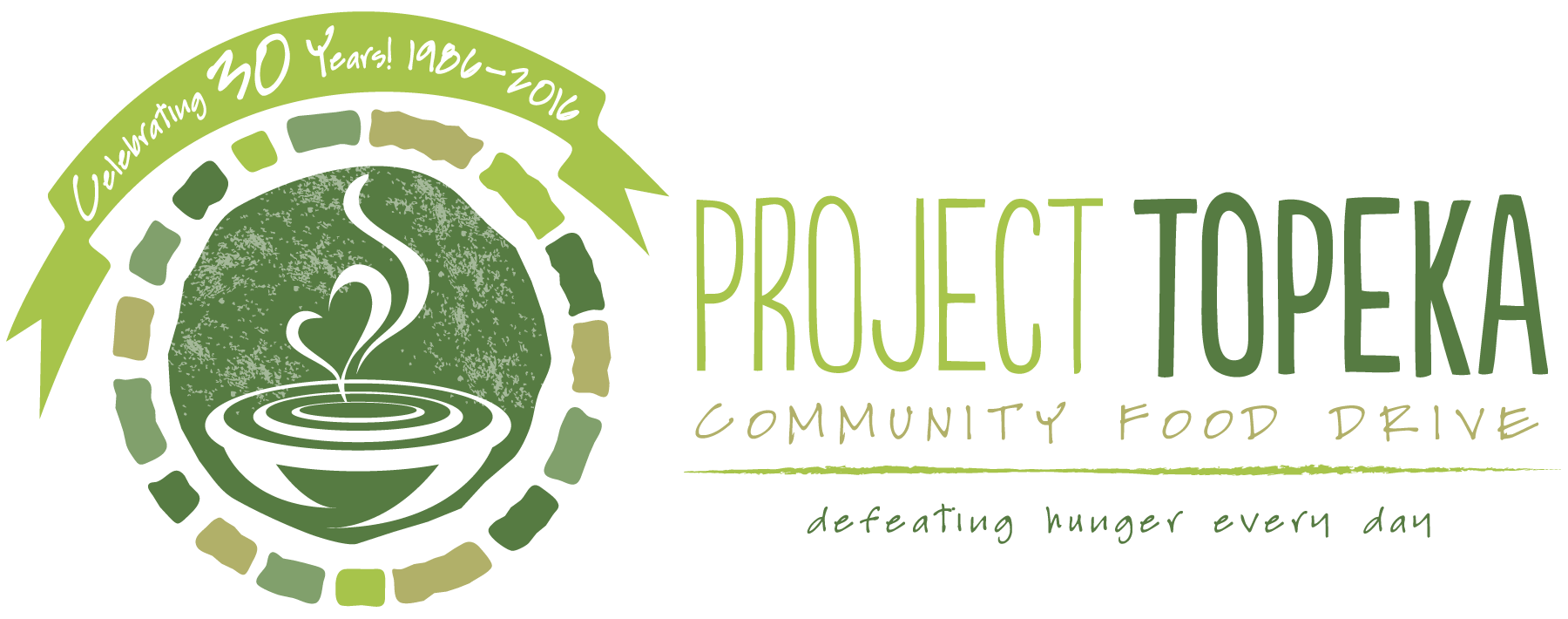 Project Topeka Logo 30th